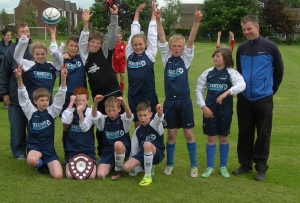 All Saints celebrate with Fairtrade Champions Shield