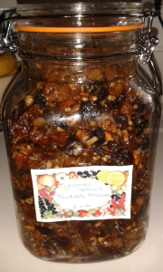 Fairtrade Mincemeat made at Tansley Primary